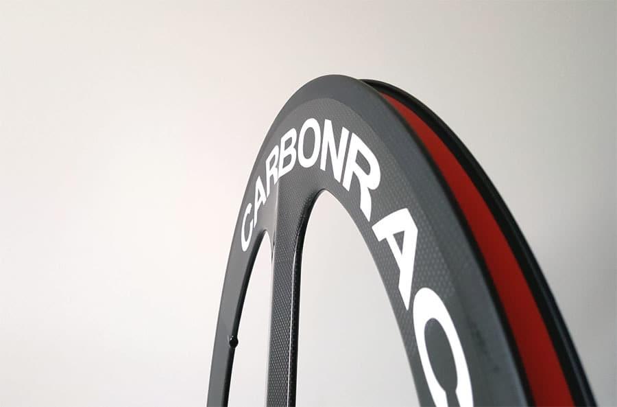 TT3 met 70mm hoge velg drie spaaks wiel