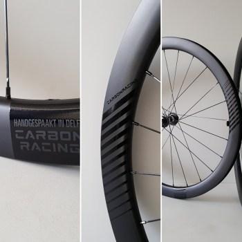 Carbon wielen voor schijfremmen