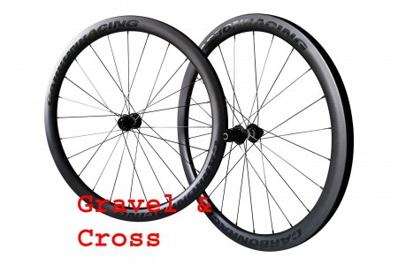 GX44 gravel en cross wielen