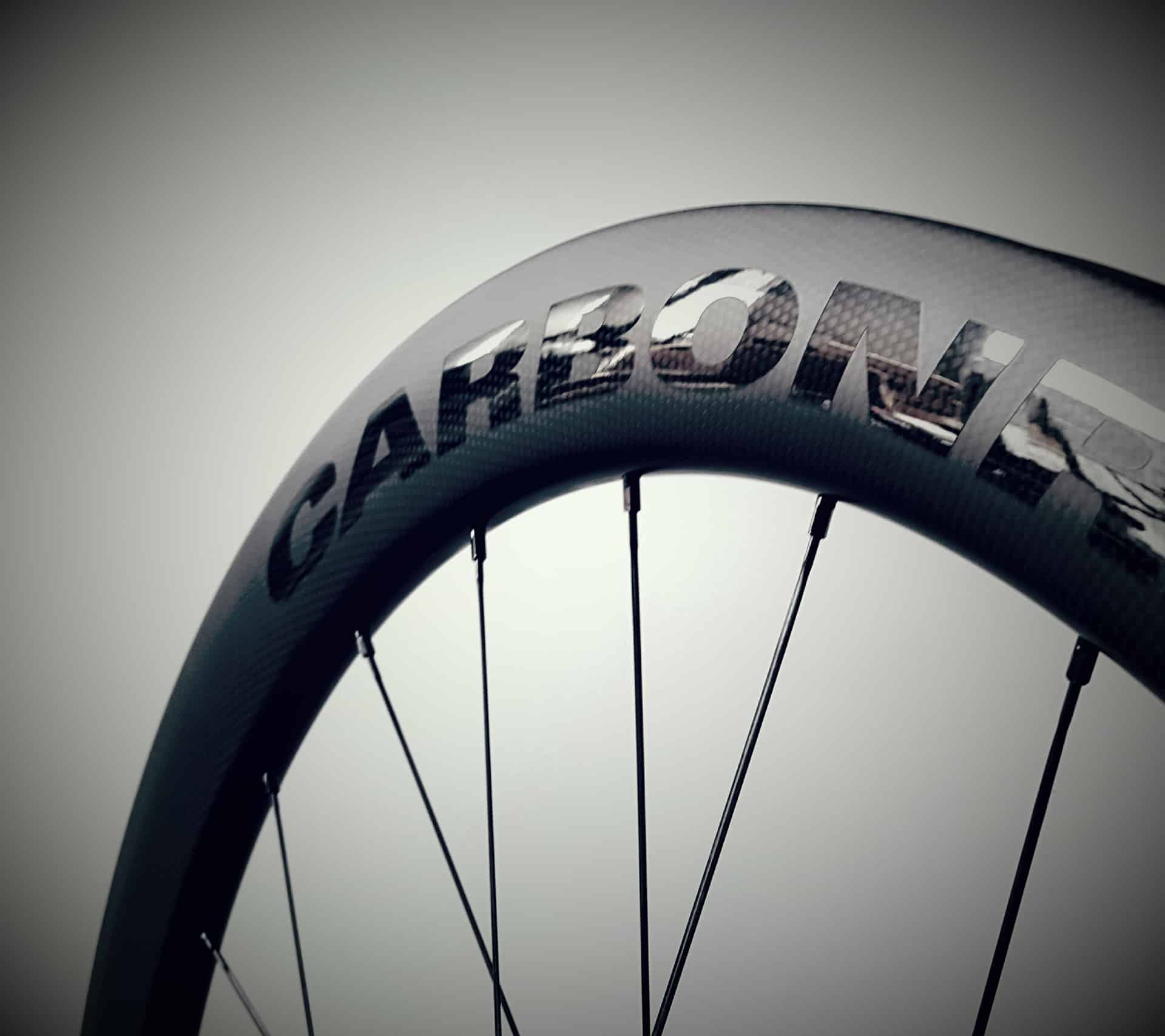 55mm carbon tubeless ready velg