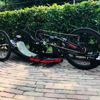 Top End hand bike met CARBONRACING wielen