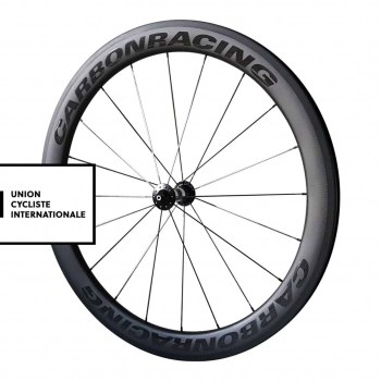 CR5-55 carbon UCI approved voorwiel met DT Swiss 350 naven