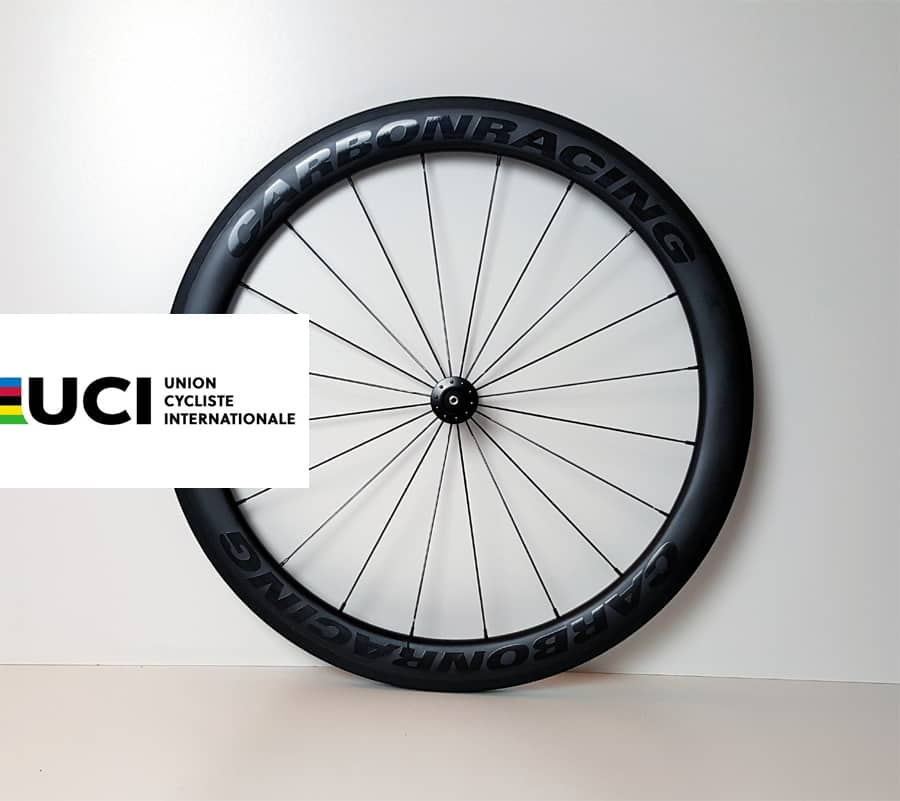CR5-55 wielset heeft UCI approval
