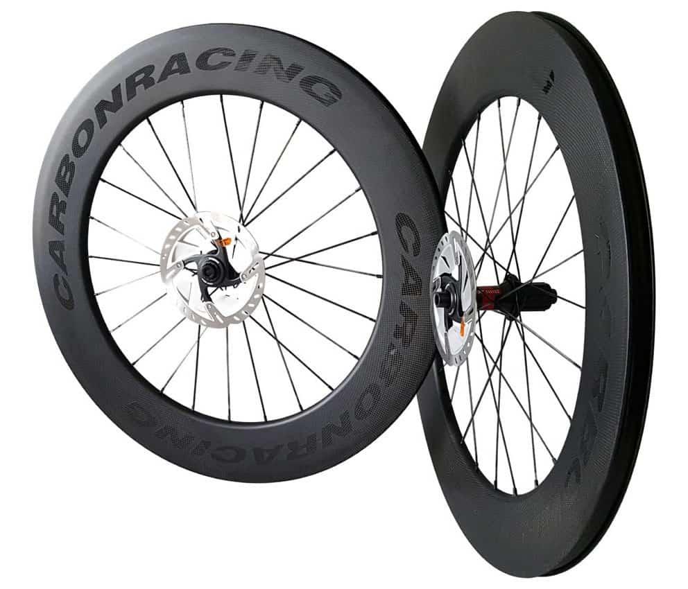 Verwonderend CD5-88 carbon wielen schijfremmen en 88mm hoge velgen - Carbon FZ-63
