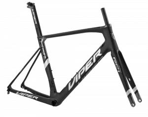 Viper RC1 carbon frame schijfremmen Zwart Wit